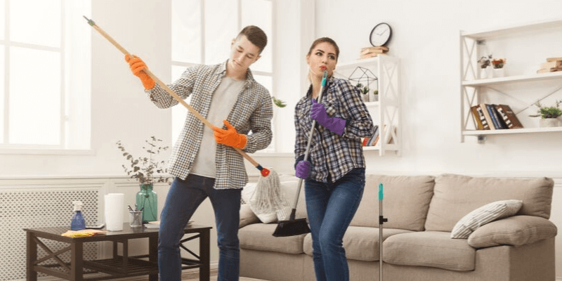 Cleaning Party